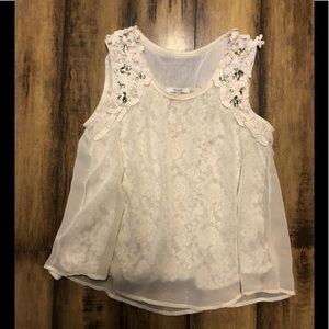 Miss Me Lace Top From Buckle